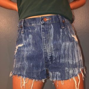 Vintage high waisted Wranglers.